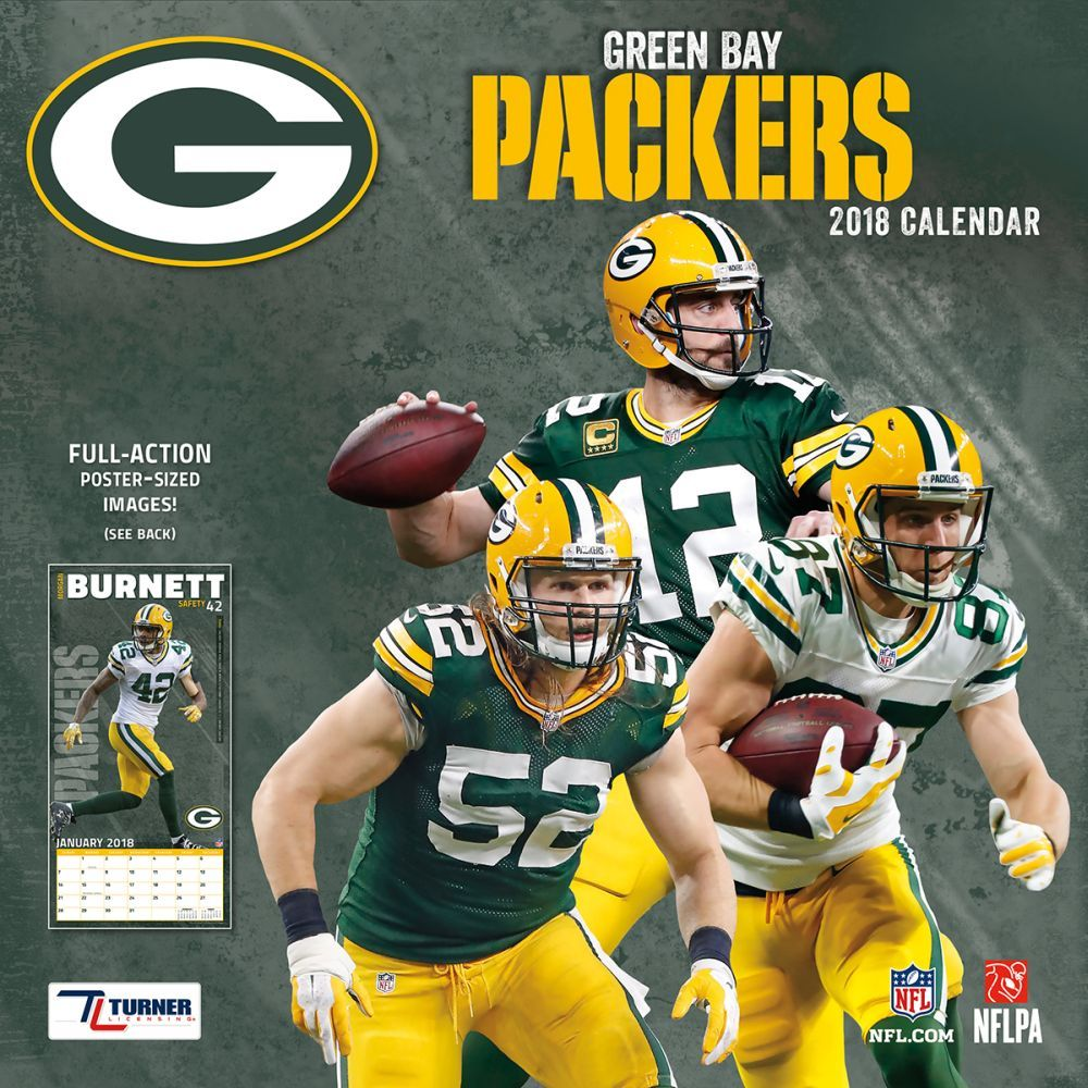 Kalender 2018 Green Bay Packers